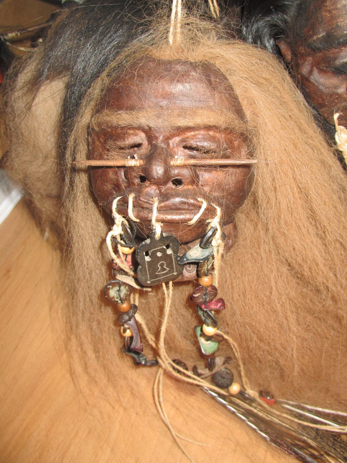 Shrunken Heads Spectacular Shrunken Head