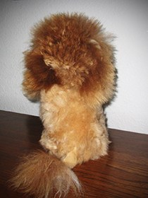 plush and adorable alpaca lion stuffed animal